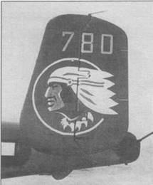 Два варианта эмблемы 345th BG «Air Apache».