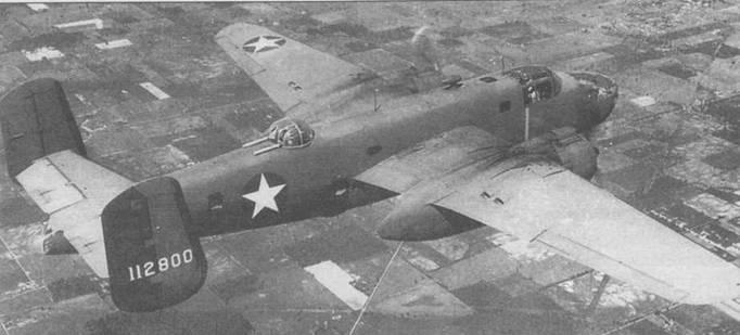 В-25С (41-12800) с двигателями R-2600-13.