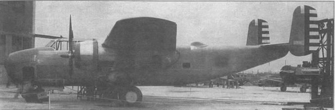 Прообраз В-25 — NA-40 в первоначальном варианте с двигателями Pratt &  Whitney R-I830-56C3-G «Twin Wasp» стартовой мощностью 1100 л.с.