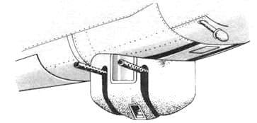 нижняя турель