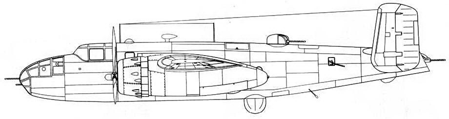 PBJ-1D с радаром вместо нижней стрелковой точки