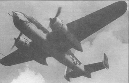 B-25G в камуфляже типа Sea-Search — Olive Drab/White. Такой камуфляж накладывался на самолеты, занимавшиеся поиском подводных лодок противника.