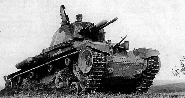 Танк LT vz.35 из состава 3-го танкового полка чехословацкой армии. Центральная Словакия, 1937 год.