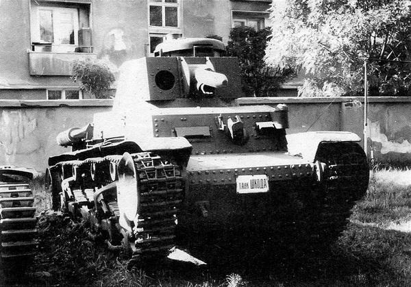 Pz.35 (t) в экспозиции военного музея в Софии.