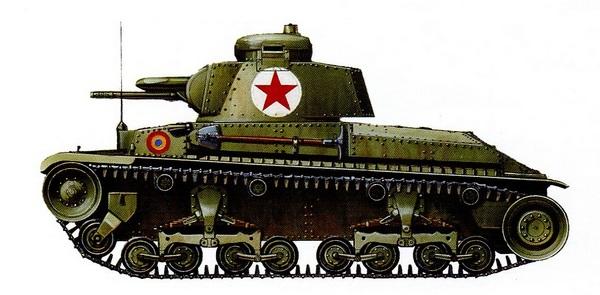 R-2 из 2-го румынского танкового полка. Западная Словакия, осень 1944 года.