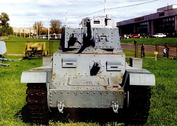 Pz.38 (t) Ausf.С в экспозиции Музея Великой Отечественной войны в Москве.