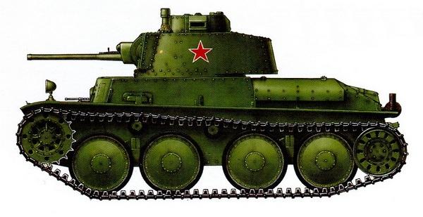 38-Т «Прага». Отдельная рота трофейных танков. Западный фронт, лето 1942 года.