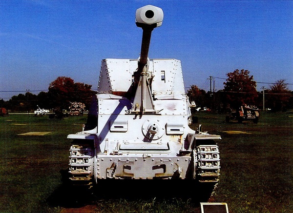 Sd.Kfz.139 MarderIII в экспозиции Военного музея на Абердинском полигоне в США.