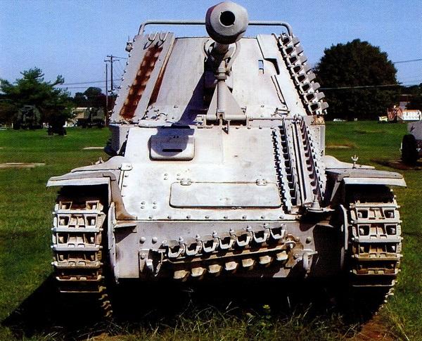 Sd.Kfz.138 Ausf.M MarderIII в экспозиции Военного музея на Абердинском полигоне в США.