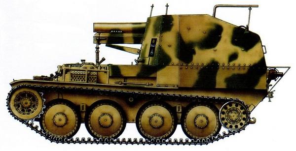 Sd.Kfz.138/2 Bison. Восточный фронт, Австрия, весна 1945 года.