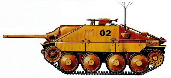 Befehlspanzer 38 (t). 741-й противотанковый дивизион. Восточный фронт, 1944 год.