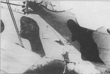 111-114. Р-5 в летнем камуфляже использовался для транспортных перевозок. Под крыльями машины видны подвешенные транспортные контейнеры.