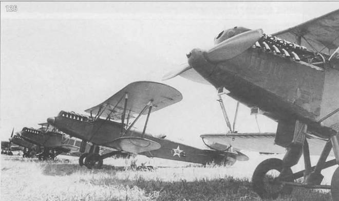 126. Р-5 на аэродроме Быково в августе 1945 г. во время подготовки к Дню Авиации в Москве.