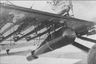 35-37. Р-5 с установкой аппаратуры постановки дымовых завес, 1934-35 гг.