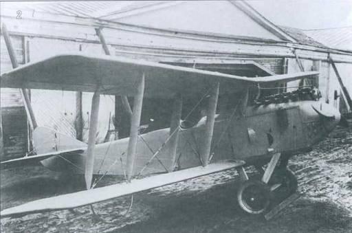 2. Опытный разведчик Р-II с двигателем Майбах конструкции А.А.Крылова.