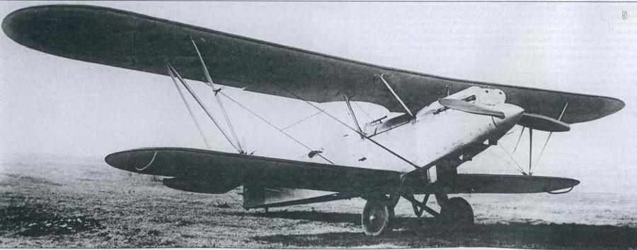 5. Разведчик Р-5 с двигателем BMW-VI в доведенном виде для серийного производства
