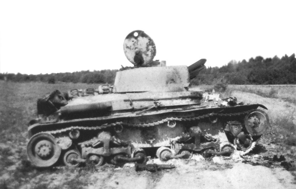 Фото танка колобанова после боя