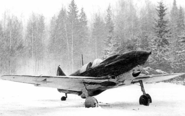 ЛаГГ-3 на аэродроме Будово, Калининский фронт, 1942г.