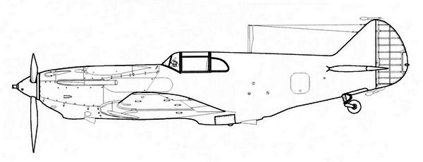 ЛаГГ-3 7-й серии завода №21.