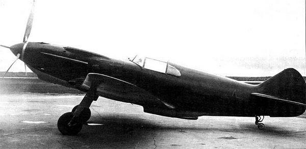 Самолёт К-37, переделанный из серийного ЛаГГ-3, построенного на заводе №23.