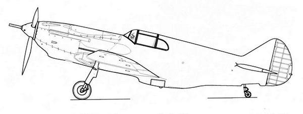 Истребитель К-37 (Гу-37) с 37-мм пушкой Ш-37 (АП-37).