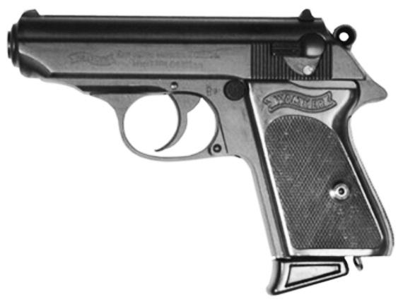 Рис. 16. Пистолет Вальтер ППК