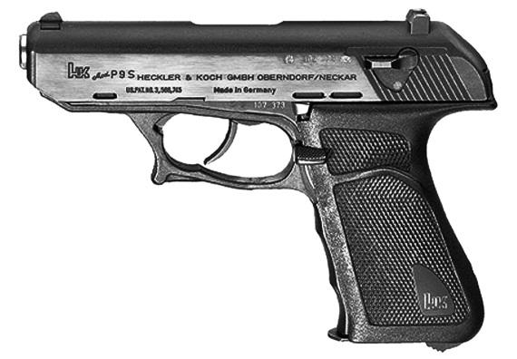 Рис. 40. Пистолет Heckler & Koch P9S