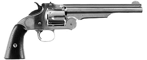 Рис. 87. Смит—Вессон .44 American 1870