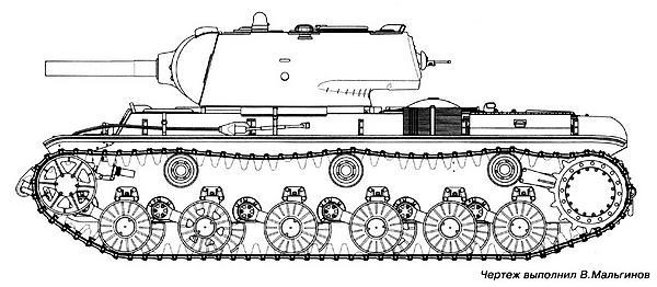 Танк КВ-9.