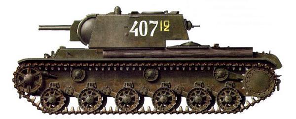 Танк КВ-8С (с башней от КВ-8), неизвестная танковая часть. 2-й Прибалтийский фронт, лето 1944 года.