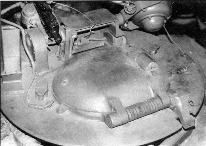 Командирская башенка танка «Чифтен» Mk.5
