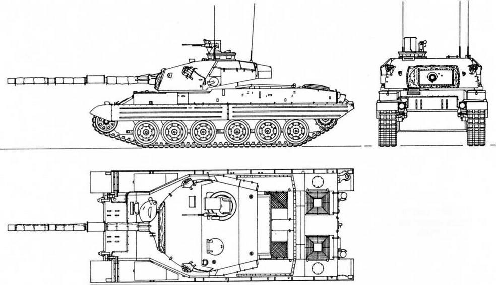 Vickers Mk.3 для кенийской армии М1:72