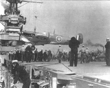 После переделки в «Сифайр 1В» самолет BL676 сменил серийный номер на МВ328. В таком виде в начале 1942 года он прошел полный цикл испытаний в открытом море на борту авианосца «Викториес». По результатам испытаний было решено начать переброску «Спитфайров» на Мальту с помощью авианосцев.