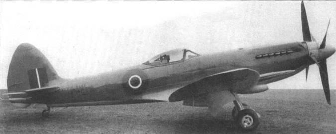 «Сифайр 46» (LA541). Самолеты этой модификации стандартно оснащались встречными винтами, поправляющими летные качества самолета, особенно при взлете и посадке. Складные крылья отсутствуют.