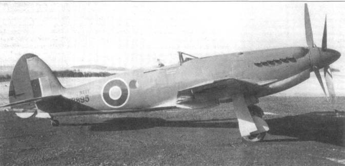 VB895 — единственный облетанный прототип «Сифанга». Его предназначали на роль образца для серии Мк.32, имевшей складные крылья и встречный винт.