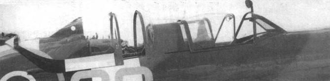 Фонари кабин двухместного «Спитфайра Т.IХ».