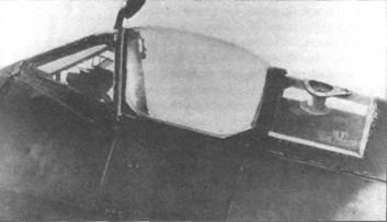 «Спитфайр IX» (RR228) поздней серии, февраль 1945 года. Самолет оснастили 341-литровым баком в хвостовой части фюзеляжа. Через стекло заднего сегмента фонаря видна верхняя часть бака и его горловина.