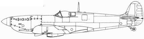Spitfire IXC первой серии