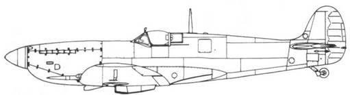 Spitfire IXC ранний