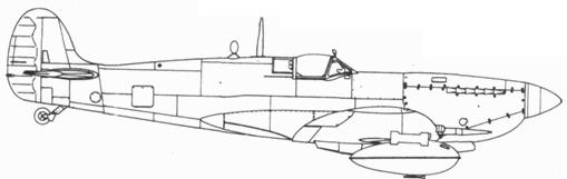 Spitfire LF. XVIE последней серии