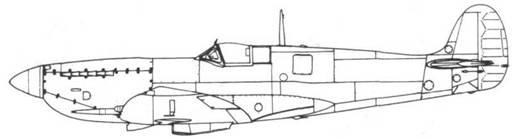 Spitfire VII ранних серий