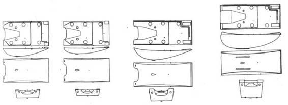 Конформные топливные баки объемом 45,30, 90 и 170 галлонов
