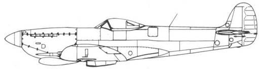 Spitfire VII №JF299 с пониженным гаргротом
