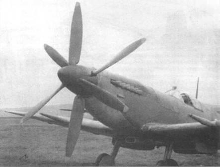 Встречные винты на «Спитфайре IX». Такой движитель стоял по меньшей мере на пяти Mk.IX.