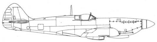 Spitfire VIII со сдвоенным винтом