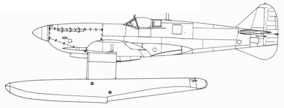 Поплавковый Spitfire IX