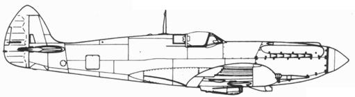 Spitfire F. XX прототип (DP845)