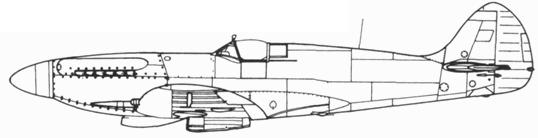Spitfire F. XIV серийный