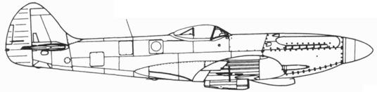 Spitfire FR. XIV серийный