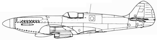 Spitfire PR. XIX typ 390 с гермокабиной